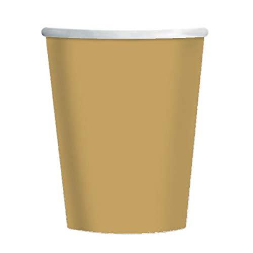 Amscan Party Supplies Paper Cup Party Drinkware, Kiwi, 9 oz, 8 ct
