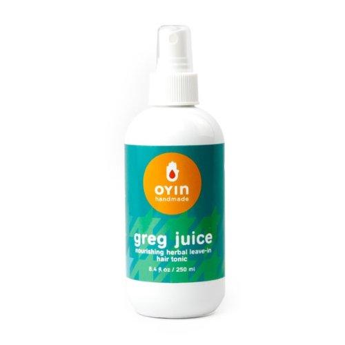 Oyin Handmade Greg Juice Herbal Leave-In Hair Tonic, 8.4 Ounce