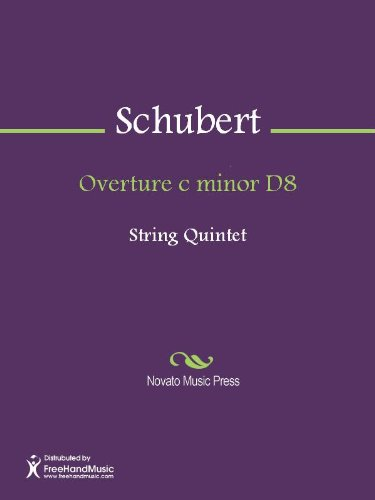 Overture c minor D8 - Viola 1