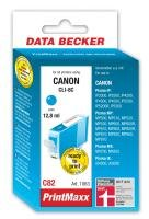 PrintMaxx Canon C82 Cyan mit Chip komp CLI8 13ml