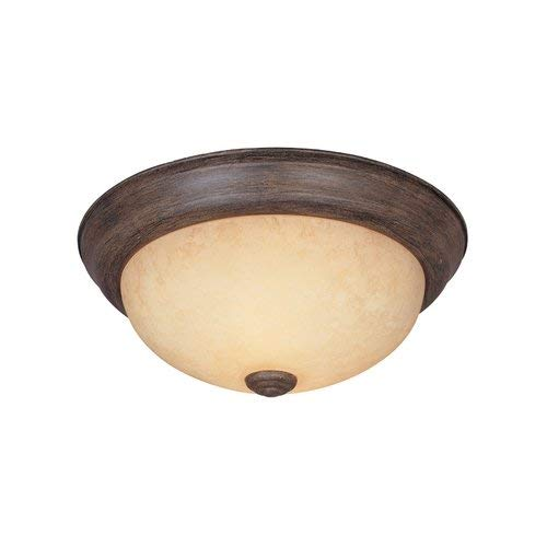 (Designers Fountain 1257L-WM-AM Value Collection Ceiling Lights, Warm Mahogany)