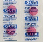 Butler G-U-M Red-cote Dental Disclosing Tablets - Package of 248 tablets