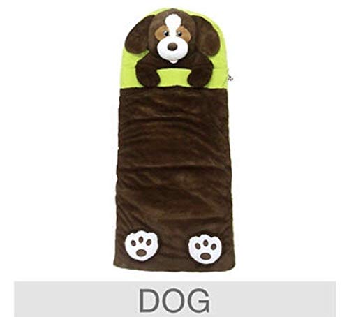 Hugfun Animal Slumber Bag (Brown Dog) -