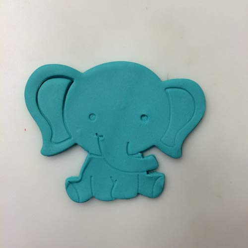 Baby Elephant 102 Cookie Cutter (4 inches)