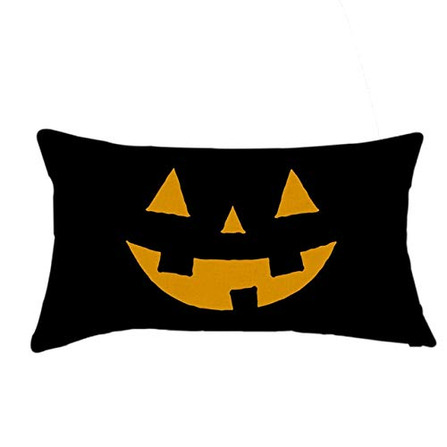 Amazon.com: Cojines Halloween Linen Pumpkin Ghosts Home ...