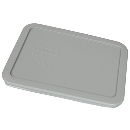 Buy Pyrex 7210-PC Grey Rectangle 3 Cup (750mL) Plastic Storage Cover (4-Pack) reviews