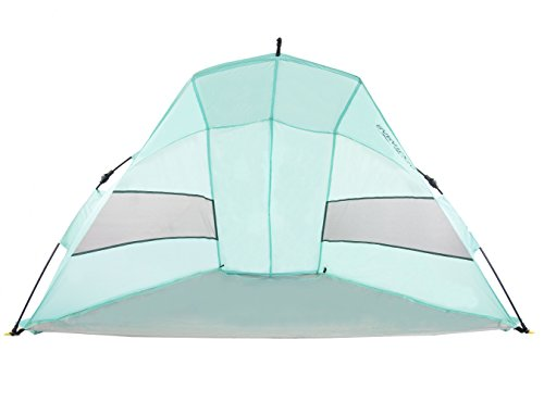 Saratoga Outdoor Instant Automatic Pop Up Beach Tent (Saratoga Blue, Medium) Review