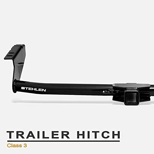CURT 13343 Class 3 Trailer Hitch 2-Inch Receiver for Select Toyota Sienna