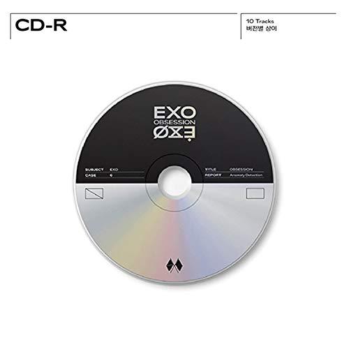 EXO 6th Album - OBSESSION CD + Photobook + Lyrics Book + Folded ...
