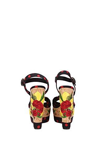 Sandali Donna Dolce & Gabbana Bianco C18934 Af344 8u938 Multicolor
