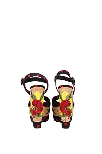 Dolce Mujer amp;Gabbana Zuecos EU Negro C18934AF3448U938 RBqnnAwZE