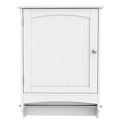 Yaheetech Medicine Cabinet, Hanging Bathroom Cabinet, Wall Cabinet - White 18.9''Lx6.3''Wx25.8''H ()