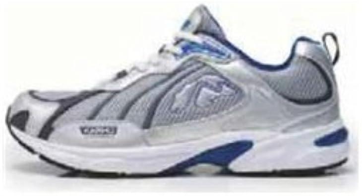 Karhu Trop - Zapatillas de Atletismo y Running para Hombre, Talla 44, Color Gris/Azul: Amazon.es: Zapatos y complementos