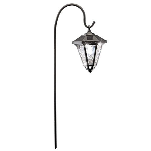 Collections Etc Solar Powered Sparkling Garden Lantern by Collections Etc
