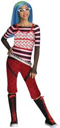 Girl's Costume: Ghoulia Yelps- Large -