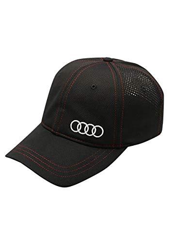 Audi Collection Contrast Stitched Unstructured Cap ACM4478