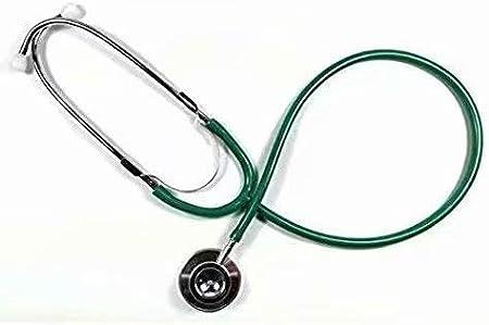 HANBIN atención médica médico Pro doble estetoscopio de doble cabeza enfermera veterinaria green