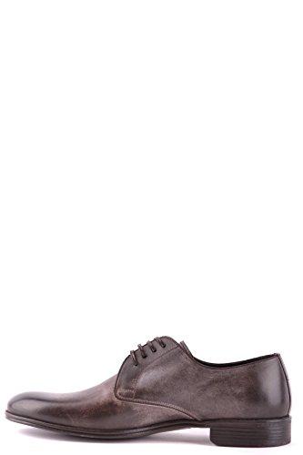 In Dolce Pelle Stringate Marrone E Mcbi099032o Scarpe Gabbana Uomo xwYqwH1T