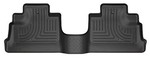 Husky Liners Fits 2011-17 Jeep Wrangler 4 Door, 2018 Jeep Wrangler JK 4 Door Weatherbeater 2nd Seat Floor Mat