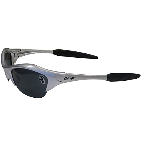 (Siskiyou Chicago White Sox Blade Style Sunglasses )