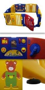 ProSource Baby Kids Playpen 8 Panel Play Center Safety Yard Pen by ProSource (Image #3)