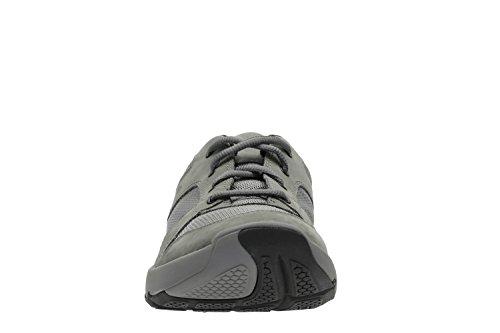 Clarks Deporte Hombre Zapatos Wave Launch En Textil Gris Tamaño 41