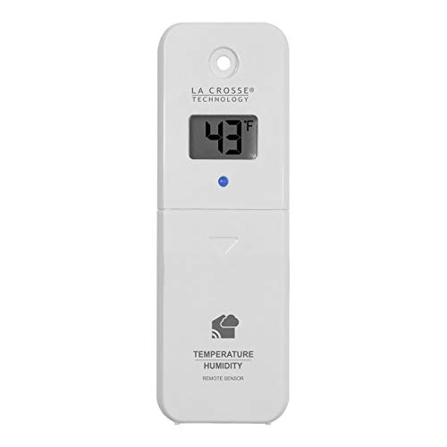 Professional house Compatible with LTV-TH2 La Crosse Technology View - Connected Temperature & Humidity Sensor ()