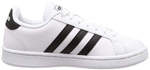 Para Blanco Mujer 000 negbás De Grand Court ftwbla Adidas ftwbla Zapatillas Deporte w1X4Xq