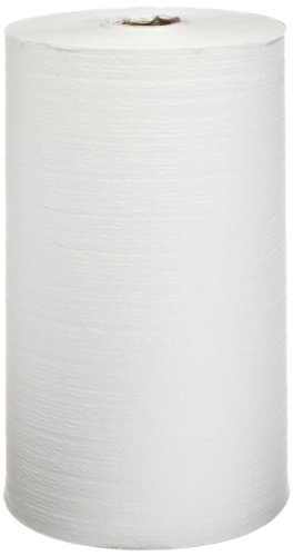 Hospeco TaskBrand Scrimtask GS-C4303, White, 4-Ply,  Non-Perforated Glass and Surface Cleaning Wiper on a 275' roll. Great for Cleaning Glass and Countertops.  Made with Tissue and Nylon Scrim (Case of 6) ()