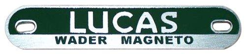 EuroJamb magbadgewader00000000 Lucas Racing Magneto Badge Plate Triumph BSA Norton WADER