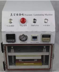 GOWE con bomba de vacío y compresor de aire, Nueva actualizada OCA al vacío plastificadora para plastificar máquina reparar reparación OCA laminación ...