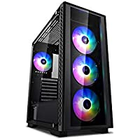 DEEPCOOL MATREXX 50 ADD-RGB 4F ATX Mid-Tower Case 4x120mm ADD-RGB Fans Full-Size Tempered Glass Motherboard SYNC Control ADD-RGB Lighting System