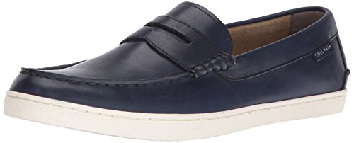 Cole Haan Men's Pinch Weekender Hand Stain Loafer, Blazer Blue Handstain, 10.5 Medium US