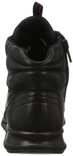 Genna Schwarz Ecco Damen Black Hohe Sneaker azn7Cwq
