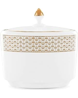 (Waterford Lismore Diamond Sugar Bowl with Lid)