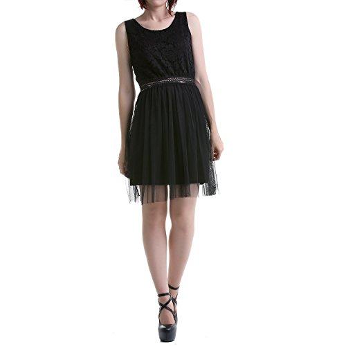 Kleid mit Spitze und Tüll