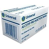 Universal ung603Alcotip pre-injection toallitas de 300mmx600m M 45GS