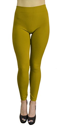 belle-donne-womens-fleece-lined-leggings-one-size-mustard