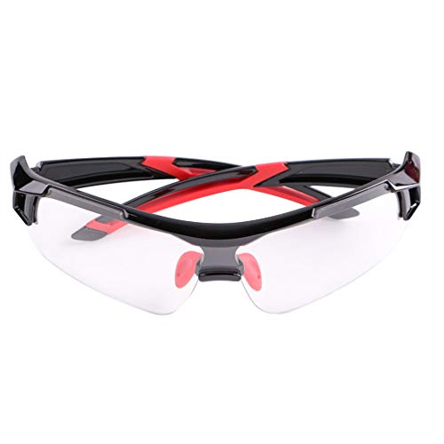 BESPORTBLE 2pcs Safety Glasses Eyewear Personal Protective Equipment Clear Anti Fog Splash Proof Impact Resistance for Working Outdoor