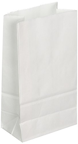 Big Value White Paper Crafting Bags 40/pk (Small White Paper Bags)
