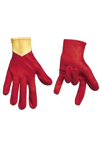 Kids Child Boys Ultimate Iron Spider-Man Spiderman Accessory Gloves - Authentic Spider Man Costume Accessories