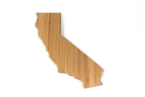 (BambooMN Brand - California Silhouette Cutting Board - Flight Rack Size - 1 Unit)