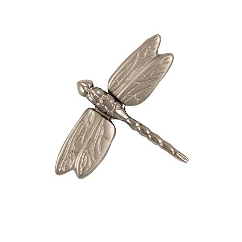 Dragonfly in Flight Doorbell Ringer - Nickel Silver ()