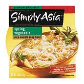 SIMPLY ASIA BOWL RC NDL SPRG VEGETABLE, 2.5 OZ (Vegetable Soup Spring)