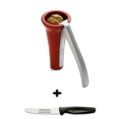 Compra Designgroup Drosselmeyer - Cascanueces Rojo + Acero ...