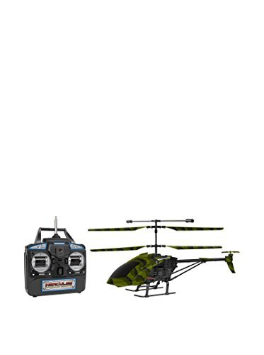 World Tech Toys 3.5 Camouflage Hercules RC Gyro Helicopter (World Tech Toys Gyro Hercules Unbreakable Rc Helicopter)