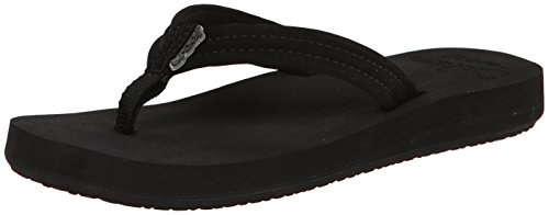 Reef Women's Cushion Breeze Sandal,Black Black,8 M US - Breeze Womens Sandals