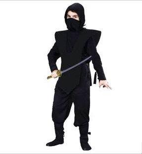 New Halloween Costumes Japanese Child Ninja