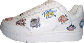 Zapatilla de baloncesto de piel alta alta reebok