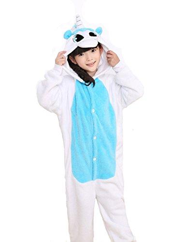 Tonwhar Children's Halloween Costumes Kids Kigurumi Onesie Animal Cosplay (140(height:53.14